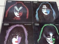 Gene Simmons, Paul Stanley, Ace Fehley and Peter Criss