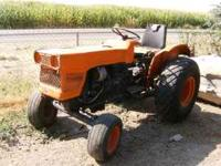 This is a great running 1978 Kubota L185. It has a 2