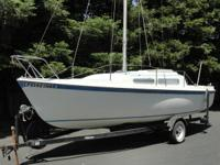 Great starter sailboat for a family members. Pop