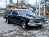 Super straight 1978 Chevy Malibu Landau, rust free