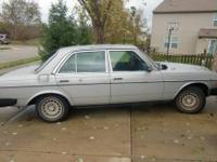 I have a 1978 Mercedes Diesel for sale. The Benz is my