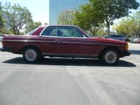 1978 Mercedes benz 300CD Coupe diesel,Runs and looks