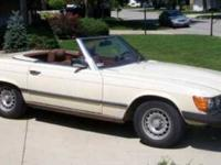 1978 Mercedes Benz 450SL Roadster Convertible This