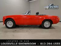 1978 MG B for sale in our Louisville Ky Showroom. This