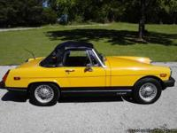 Make:  MG Model:  MGB Year:  1978 Body