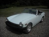 JUST LOWERED PRICE! THIS IS A MG MIDGET WITH A 4 SPEED