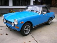 '78 MG Midget, really solid, rust free, California