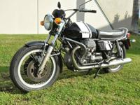 We are selling a 1978 850 T3 Civilian bike in excellent