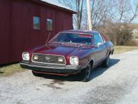 1978 Ford Mustang for trade - looking for a big body