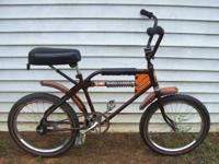Vintage 1978 Montgomery Wards Monoshock Bicycle.  Made