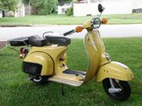Selling my 1978 Piaggio Vespa Super 150 Scooter.
