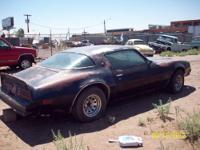 1978 Pontiac Firebird Formula 4 spd. std. P/S,P/B, had