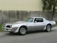 1978 PONTIAC TRANS AM 400ci 4 SPEED MATCHING NUMBERS