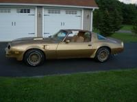 1978 Solar Gold Pontiac Firebird Trans Am with roughly