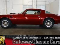 For sale in our Nashville showroom is a red hot 1978