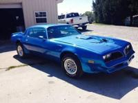 1978 Pontiac Trans Am for sale (WV) - $23,500 Rare '78