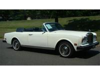 1978 ROLLS-ROYCE CORNICHE CONVERTIBLE FOR SALE -