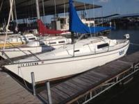 1978 San Juan 24 sailboat ready to sail it has a good