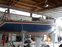 For Sale - 1979 Santana 20 foot Sail Boat and trailer