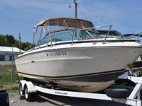 1978 22' SEA RAY. PROPRIETOR SHARES MARKET IT !!! This