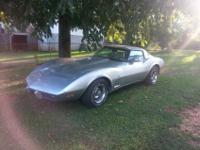 78 corvette w/t-tops new tires, new carpet, has only