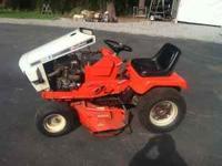 "1978 Simplicity/Toro Lawn Tractor, 48"" Mower Deck,"