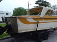 1978 starcraft islander 22 ft cruiser with 140 HP