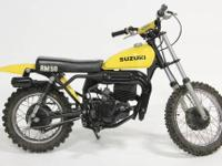 One of a kind 1978 Suzuki rm50 dirt bike to be sold at