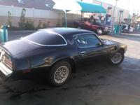 This 1978 Pontiac Trans Am has a 403 C.I. V8 w/
