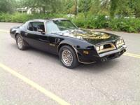 Real 1978 Bandit car with Hurst Hatch T Tops ,like the