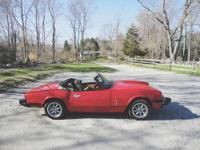 I have a 1978 Triumph Spitfire. I restored as most of