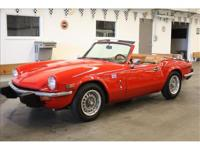 Extra clean Triumph Spitfire 1.5 litre , this car has