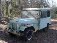 Very solid US Postal Service Mail Jeep. 4-cylinder,