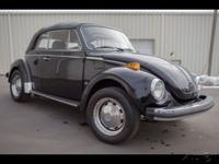 This 1978 Volkswagen Beetle Convertible has been well
