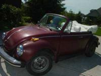 1978 Volkswagen Beetle Convertible Champagne Edition II