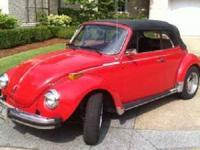 1978 Volkswagen Beetle Convertible An Import classic