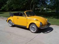 Year : 1978 Make : Volkswagen Model : Super Beetle