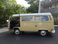 Beautiful 1978 VW camper in good condition. 106,000 mi.