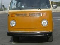 ALL ORIGINAL 1978 FUEL INJECTED VW BUS, SO CALIFORNIA