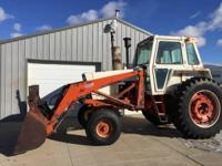 1978 Case Agri King 1070 Tractor- - 1978 Case Agri King