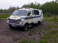 $1900 or best offer! This classic 1978 Dodge TransVan