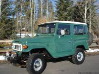 Super clean 1978 FJ40 landcruiser. Frame off