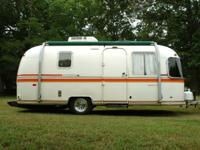 This Vintage 1979 22ft AIRSTREAM ARGOSY Travel Trailer