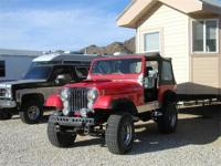 1979 American Jeep CJ7 old time 4 x 4 , automatic, lift
