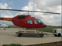 Rugged and reliable, the Bell 206B-III Jet Ranger