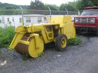 5 Ton Roller. Gasoline Engine. Drop Axle Wheels- can Be
