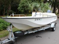 BOAT HAS BEEN RESTORED AND COMES WITH A 2004 OUTBOARD