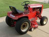 1979 C141 Wheelhorse Garden Tractor Rear Discharge