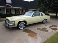 Year : 1979 Make : Cadillac Model : Coupe DeVille