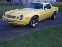 I'm selling my 1979 camaro automatic that has a fresh